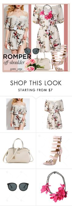 """""""Romper  Off - Shoulder - Gamiss.com"""" by goreti ❤ liked on Polyvore featuring Lanvin"""