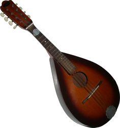 Instrumento de cuerda de origen italiano parecido al laud.