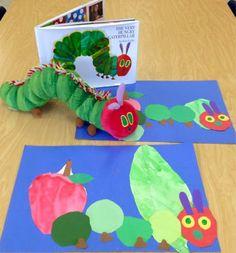 Art with Mr. Giannetto: Kindergarten Caterpillars