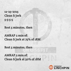 Post loads & reps to comments. Scale as needed. #BrutallyElegant #CrossFitLinchpin #CrossFit