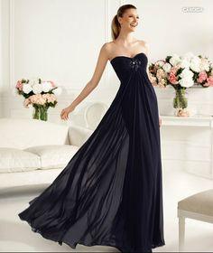 PRONOVIAS BARCELONA 2013 long collection prom dresses robe de soirée noire 7