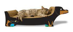 Dachshund Cat Scratcher and Lounge