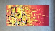 Indian Painting on canvas Indian art Ganesha painting Indian Indian Paintings On Canvas, Modern Art Paintings, Indian Wall Art, Modern Indian Art, Ganesha Painting, Ganesha Art, Lord Ganesha, India Painting, Indian Gods