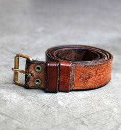 Deadstock SwedishArmy Belt