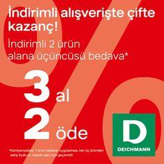 9ca8c24ac8810 HighWay Outlet Deichmann'da, Beklenen 3 Al 2 Öde Kampanyası Başladı!  #deichmann #highwayoutlet