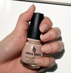 """Great Barrier Beige"" by China Glaze"