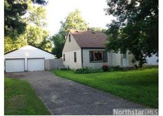 Smaller on the space and price side... might be a fair trade. 2076 Oakwood Drive, Mounds View, MN  55112 - Pinned from Coldwell Banker