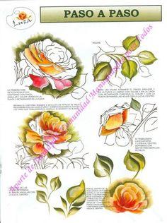 One Stroke roses 1
