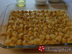 The amazing kataifi bites of Mrs Voula recipe step 4 photo Greek Sweets, Greek Desserts, Kinds Of Desserts, Greek Recipes, Non Chocolate Desserts, Greek Pastries, Biscuits, Greek Dishes, Recipe Steps