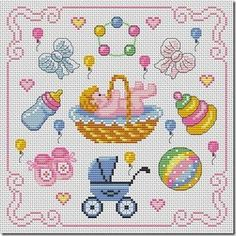 Thrilling Designing Your Own Cross Stitch Embroidery Patterns Ideas. Exhilarating Designing Your Own Cross Stitch Embroidery Patterns Ideas. Baby Cross Stitch Patterns, Free Cross Stitch Charts, Cross Stitch For Kids, Cross Stitch Baby, Cross Stitch Designs, Baby Embroidery, Cross Stitch Embroidery, Embroidery Patterns, Cross Stitching