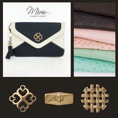 Bolsa Camafeu em branco e preto! Escolha as cores, misture texturas, adicione enfeites e crie a bolsa dos seus sonhos pelo site   ️️️️️www.mimsbags.com  #clutchbag #bolsadecouro #criesuabolsa