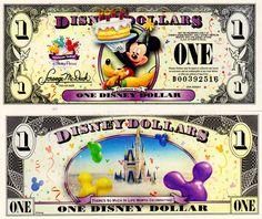 "2009 $1 Pluto and Mickey Mouse holding a Cake <br />         ""Celebrate You"" Disneyland Vacation, Disney Vacations, Disney Cruise, Disney Play, Disney Dolls, Disney Money, Disney Stuff, Disney World Information, Pinturas Disney"