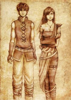 Inheritance - Eragon & Arya oh hey Arya has black hair...something neglected in the movie