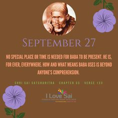 Please share: By Baba's grace, Team I Love Sai has introduced this Baba's calendar. The message in this is directly from Shri Sai Satcharitra. We urge you to please share this and spread Baba's message. Sai Baba Quotes, Chapter 33, Om Sai Ram, My Lord, Life Quotes, Spirituality, Wisdom, Faith, Messages