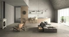 Suolo is a subtle, natural looking Italian porcelain tile, capturing the essence of a traditional weathered Italian floor . Timber Tiles, Concrete Tiles, Timber Flooring, Narrow Rooms, Large Format Tile, Tile Suppliers, Italian Tiles, Interior Design Advice, Small Tiles