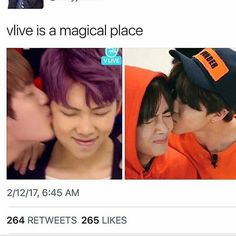 This is the day i realized that mom and dads love was true #namjin