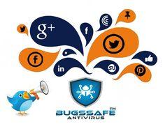 Bugssafe Antivirus is available on Social Media ...!  Facebook : https://www.facebook.com/Bugssafe-405523449819017/  Twitter : https://twitter.com/bugssafeav  Google +: https://plus.google.com/u/0/101904480375333372039  LinkedIn: https://www.linkedin.com/in/bugssafe-antivirus-517168143