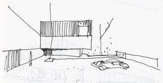 ma, Ivo Tavares Studio · House in Avanca Image 30, Sketch A Day, Concept Home, Site Design, Second Floor, Facade, Architecture Design, Solar, Floor Plans