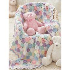 Tiny Snowflakes Baby Blanket - Patterns | Yarnspirations