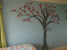 bedroom murals with trees - Google Search