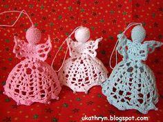 U Kathryn : Szydełkowe anioły/ Crochet angels