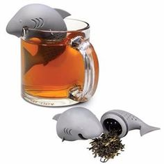 While your average tea infuser is a very practical and useful kitchen accessory it is, well, slightly boring. So spice things up with our Sharky Tea Infuser. #SharkTeaInfuserForSale #SharkTeaInfuser #TeaLeafStrainer