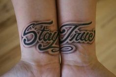 Stay True on the wrists. Love the shadowing