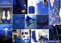 Pantone's Top Spring Color For 2014 | Dazzling Blue