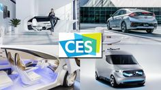 Cool car tech at CES 2017
