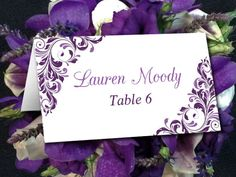 Printable Wedding Reserved Card Template Instant Download Reserved - Reserved place card template
