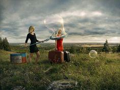 Let's Leave by Erik Johansson