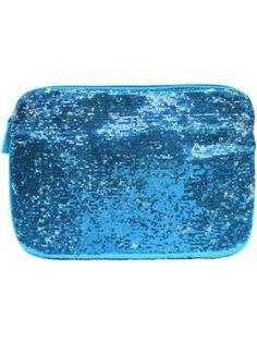 $11.75 Blue Magic Sequin Tablet Sleeve