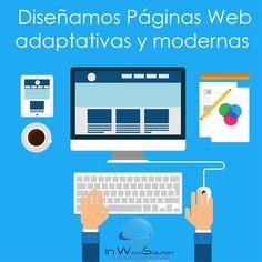 Programación 100% amigable para todos los navegadores. Desarrollada con parámetros específicos para adaptación a diferentes Móviles y Tabletas.