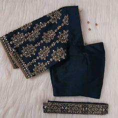 Blouse Back Neck Designs, Silk Saree Blouse Designs, Fancy Blouse Designs, Bridal Blouse Designs, Nice Designs, Simple Designs, Sari Design, Maggam Work Designs, Stylish Blouse Design