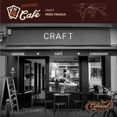 Mais um destino em Paris para quem viaja atrás de experiências diferenciadas com café. O local da vez chama-se Craft e é moldado em um espaço prático, seguindo um design moderno e elegante. Tudo para você se sentir bem. A cafeteria também abriga um espaço para Coworking. Ficou com vontade de conhecer? #destinocafé #travel #paris #craftcoffee #coffee #cafeteria #coffeelovers