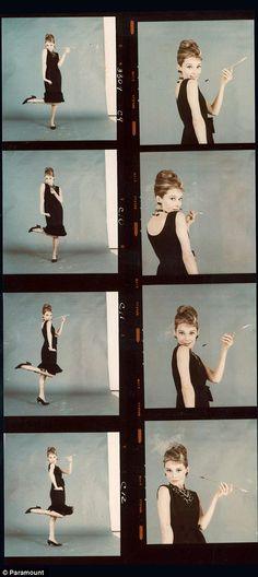 Never-before-seen images of Audrey Hepburn