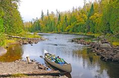 MN:Canoe the Boundary Waters in Minnesota This is about as Great Outdoors as it gets without John Candy. The largest wilderness area east of the Rockies, there are over a million acres of woods and more than 1,500 miles (!!) of canoe routes. Not to mention, some insane sunsets.