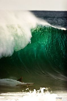 Wish I could jump on a plane and go surf Pipeline.