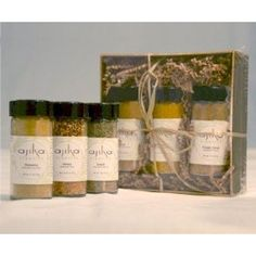 Organic Greek Goddess Spice Blend Seasoning Gourmet Gift Set $29.50