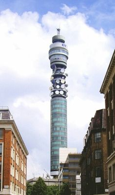 The Post Office Tower (Telecom Tower) - completed in 1964 - height 627 feet