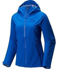 Mountain Hardwear Stretch Ozonic Jacket - Women's Bright Island Blue XS