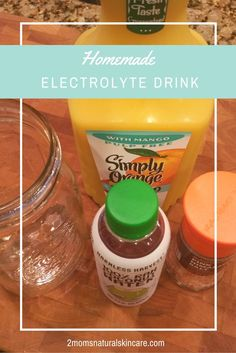Stay hydrated this summer with this all natural homemade electrolyte drink recipe.