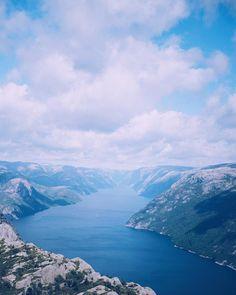 Norway at it's best  #preikestolen #lysefjorden #norway #fjords #travel