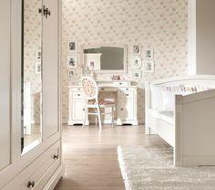 Sypialnia z kol. Prowansja/ Fameg; Bedroom from col. prowansja from Fameg - Elizabeth Interiors