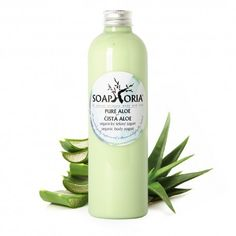 Soaphoria Tělový jogurt Aloe vera 250 ml Aloe Vera, Yogurt, Shampoo, Soap, Organic, Cosmetics, Pure Products, Bottle, Flask