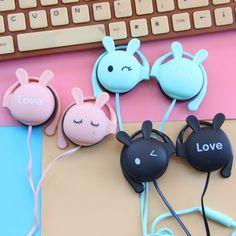 Cute kawaii bunny ear headset SE10203