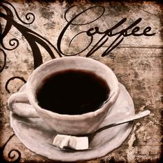 Coffee - A wonderful Collection of Coffee Art which is elegantly and classically designed to complement any cafes, modern, contemporary and traditional kitchens perfectly.