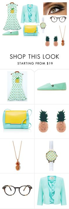 """clumsy book 5"" by bellapaige-clxxi on Polyvore featuring Delpozo, Aamaya by priyanka, True Rocks, New Look, See Concept and Jacques Vert"