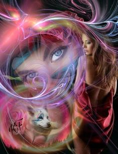 We are all a little wild Wolf Images, Wolf Pictures, Wolves And Women, Spiritual Animal, Comic Book Girl, Wolf Wallpaper, Animal Wallpaper, Fantasy Wolf, Wolf Spirit Animal