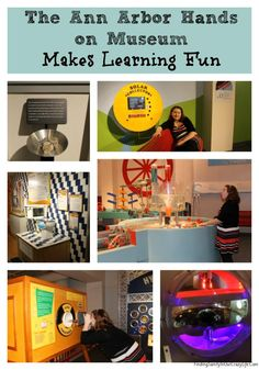 Educational Michigan Adventures reveal how fun learning can be for children of all ages at the Ann Arbor Hands on Museum. #AAHOM #Travel #Michigan